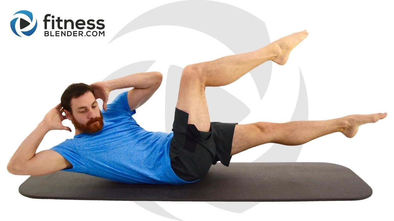 30 Minute Abs Exercise With No Equipment